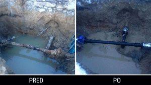 Havarijná služba - voda | Opravoa vodovodného potrubia